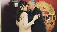 ¡A los besos! Jorge Rial se mostró por primera vez con su nueva novia en TV