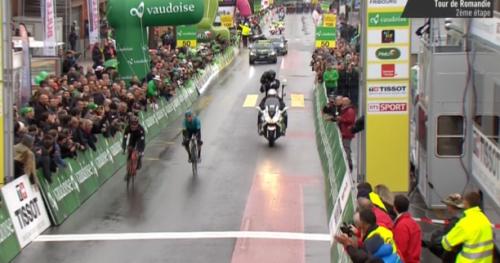 Cyclisme - T. de Romandie - Stefan Küng (BMC) : «Un très, très grand soulagement»