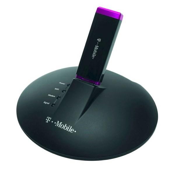 T-Mobile launches Mobile Broadband Share Dock 3G WiFi router