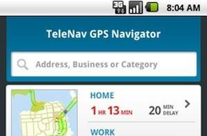 TeleNav 7.1 for Sprint Android phones: this time it's personal