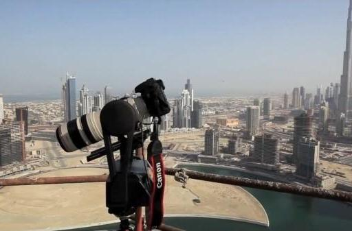 GigaPan Epic Pro helps create 44,880 megapixel panorama of Dubai skyline, world's largest digital photo