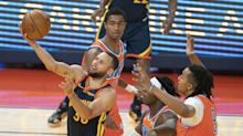Lu Dort defends Steph Curry for first time in Thunder loss to Warriors