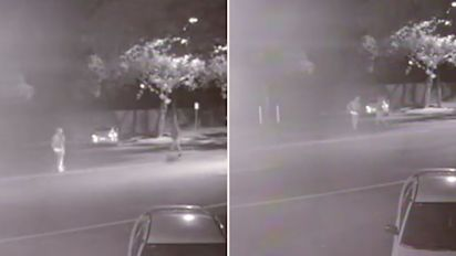 CCTV shows moment man is glassed in brutal attack