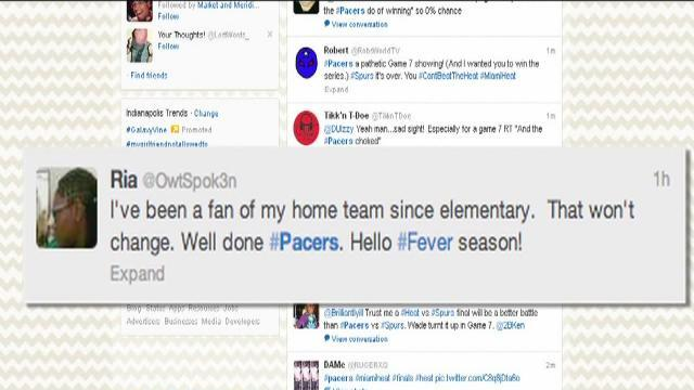 Pacers fans take to Twitter after Game 7 loss
