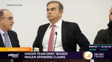 Ghosn team deny 'biased' Nissan spending claims