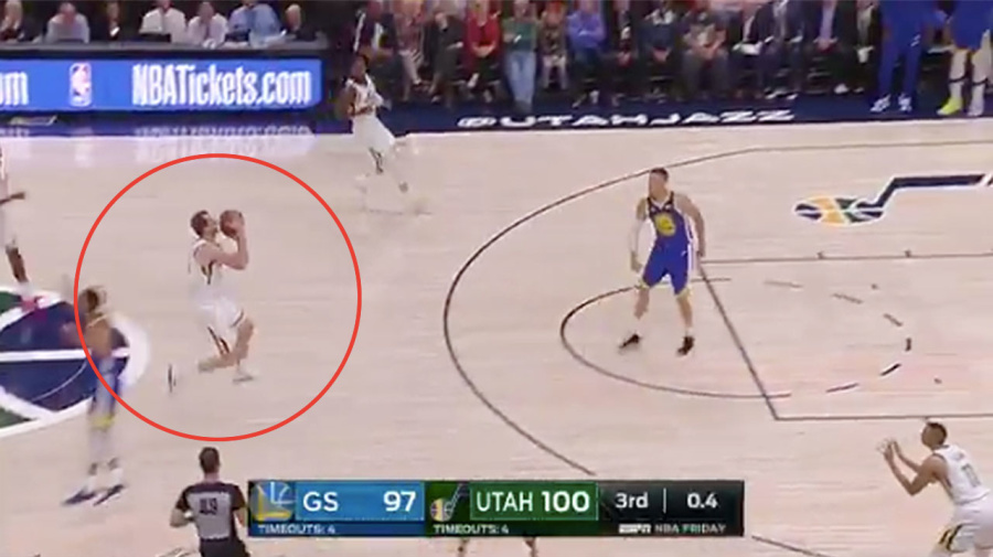'Cold blooded': NBA fans erupt over Joe Ingles' buzzer beater