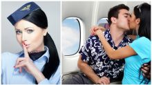 Hostie reveals what happens when passengers try to join the mile high club