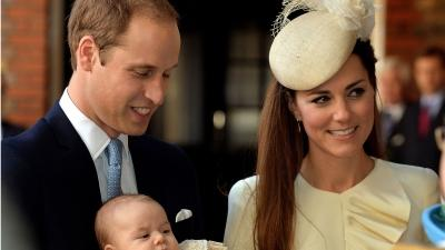 Prince George Christened in London