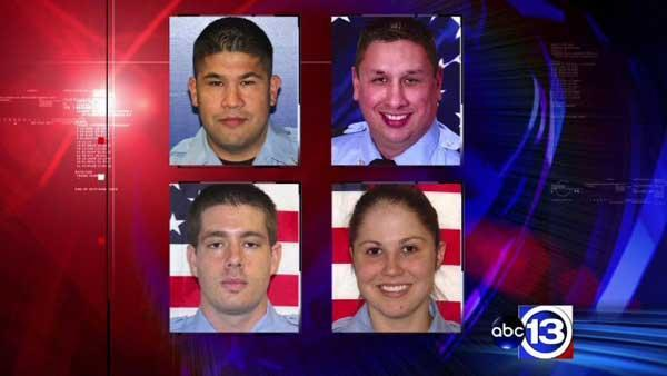 Memorial service for fallen firefighters on Wednesday