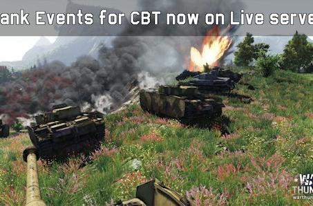 War Thunder introduces closed beta tank events