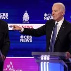 Democratic debate: Chaotic showdown sees Sanders and Bloomberg face attacks from all sides as Biden reclaims his time