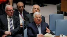 U.S. says ready to talk Mideast peace; Abbas calls for conference