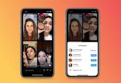 Instagram will let four users go live in a single stream