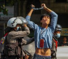 Myanmar police launch most extensive crackdown; hundreds arrested