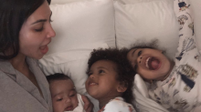 Kim Kardashian sparks mom debate about pacifiers