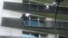 Father of dangling boy saved from balcony by Mali 'Spider-Man' was 'out playing Pokemon Go'