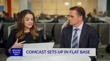 Comcast Sets Up In Flat Base