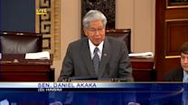 Sen. Akaka talks about Schatz