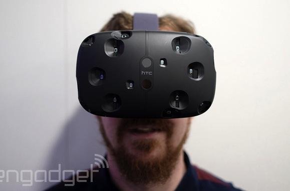 Unreal game engine will support HTC's virtual reality headset