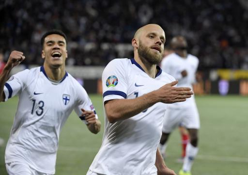 Finland qualifies for major soccer tournament for 1st time