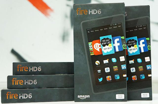 Amazon to release a $50 tablet this year, WSJ says