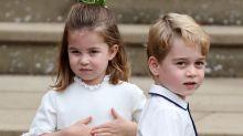 Princess Charlotte Couldn't Stop Waving at Princess Eugenie and Jack Brooksbank's Wedding