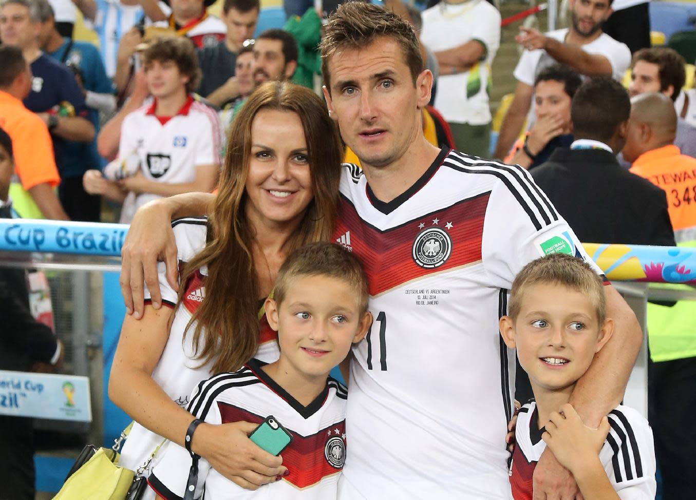 Miroslav Klose Frau