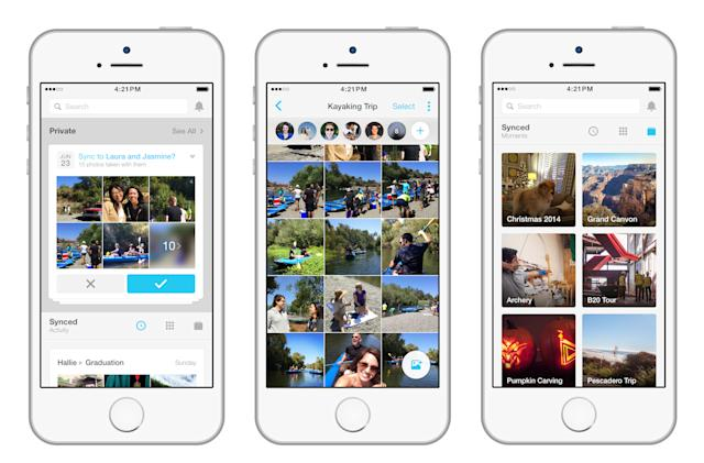 Facebook is replacing Photo Sync with its Moments app