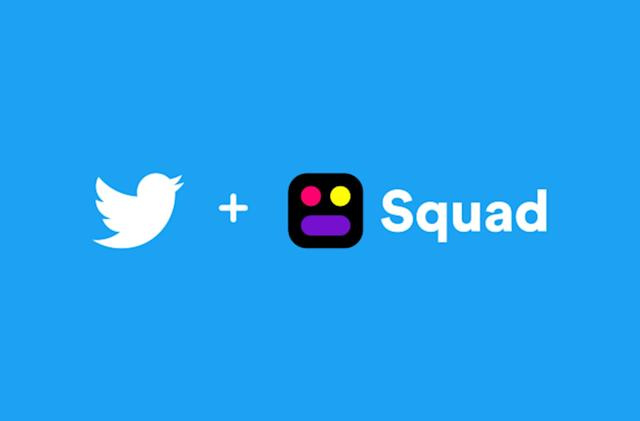 Twitter acquires screen-sharing and video chat startup Squad