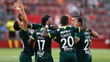 Atlético Nacional levanta cabeza en Colombia y vence 3-2 al Envigado