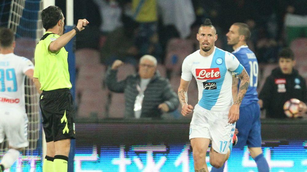 """Hamsik da record col Napoli, 14 goal stagionali: """"Obiettivo secondo posto"""""""
