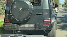$300,000 Mercedes G-Wagon caught travelling THREE times the speed limit