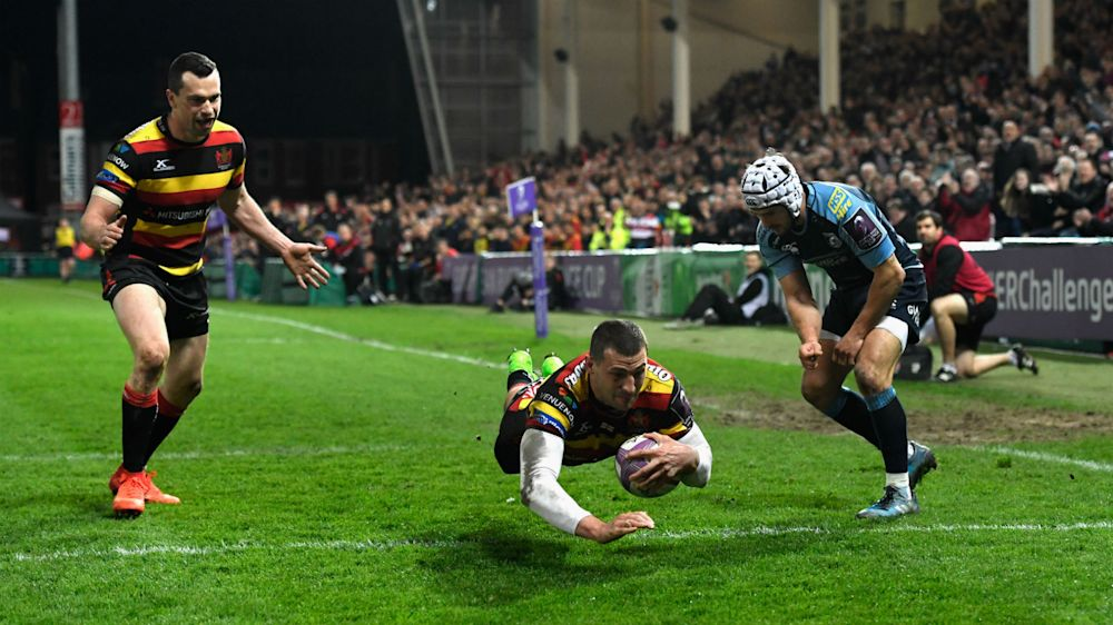 Second-half blitz sees Gloucester past Cardiff