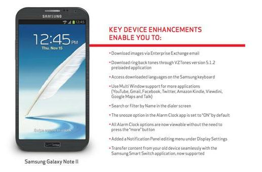 Verizon releases substantial Galaxy Note II update, improves Multi Window support