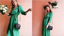 Este es el vestido verde que no paras de ver en Instagram