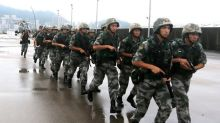 Hong Kong's PLA garrison held a drill last week on 'emergency dispatches'