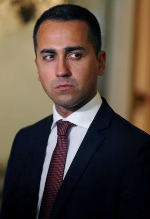 Image result for italy's di maio repeats attack on french