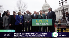 Is the 'Green New Deal' too extreme? Solar and wind firms are weighing in