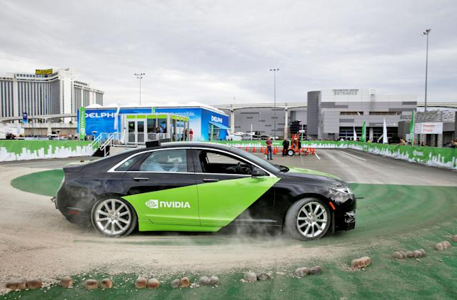 NVIDIA aims to make self-driving safer with virtual simulations