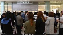 Zara-owner Inditex posts higher net profit, sees single-digit sales growth ahead