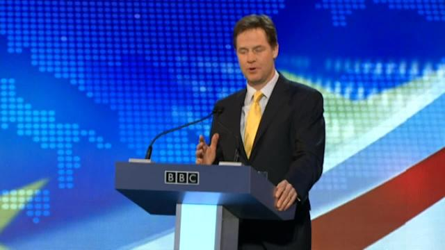 Nick Clegg and Nigel Farage continue Europe debates