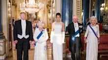 This is what Donald Trump and the Queen ate at the Buckingham Palace state banquet