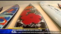 Unique surfboards create new wave of Warhol fans
