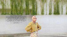 6 Inspirasi Hijab Outfit dengan Puff Sleeves ala Richa Etika Ulhaq