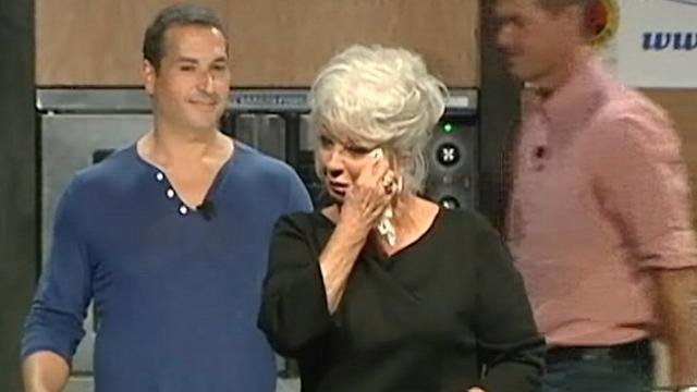 Paula Deen Cries 'Tears of Joy' During Cooking Show