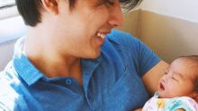 Mike Tan welcomes first child