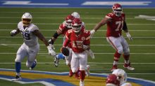 Chiefs QB Patrick Mahomes' rushing prowess highlighted in win over Chargers