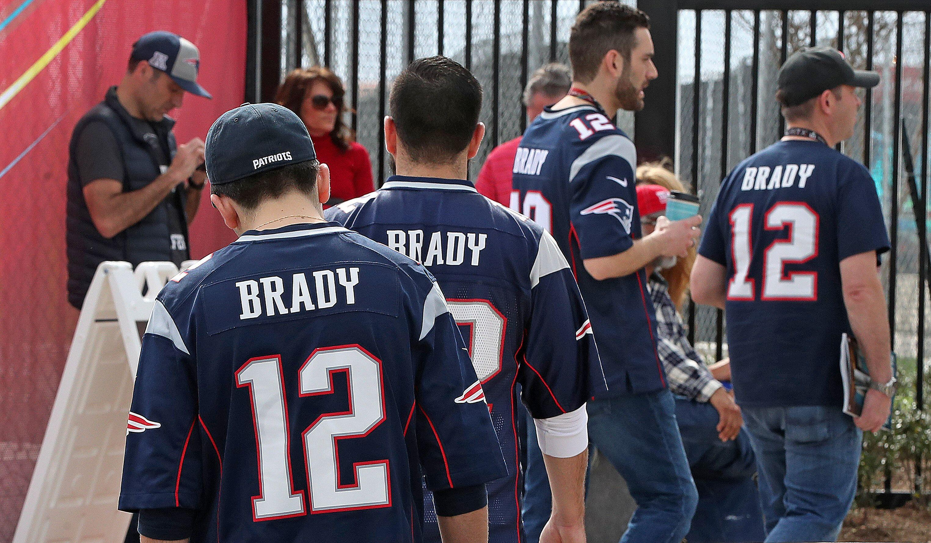 864d8945 Tom Brady leads NFL player merch sales yet again, but there's a surprise at  No. 2