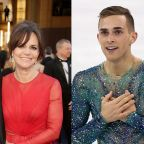 Sally Field's Son Reaches Out to Olympic Figure Skater Adam Rippon (Exclusive)