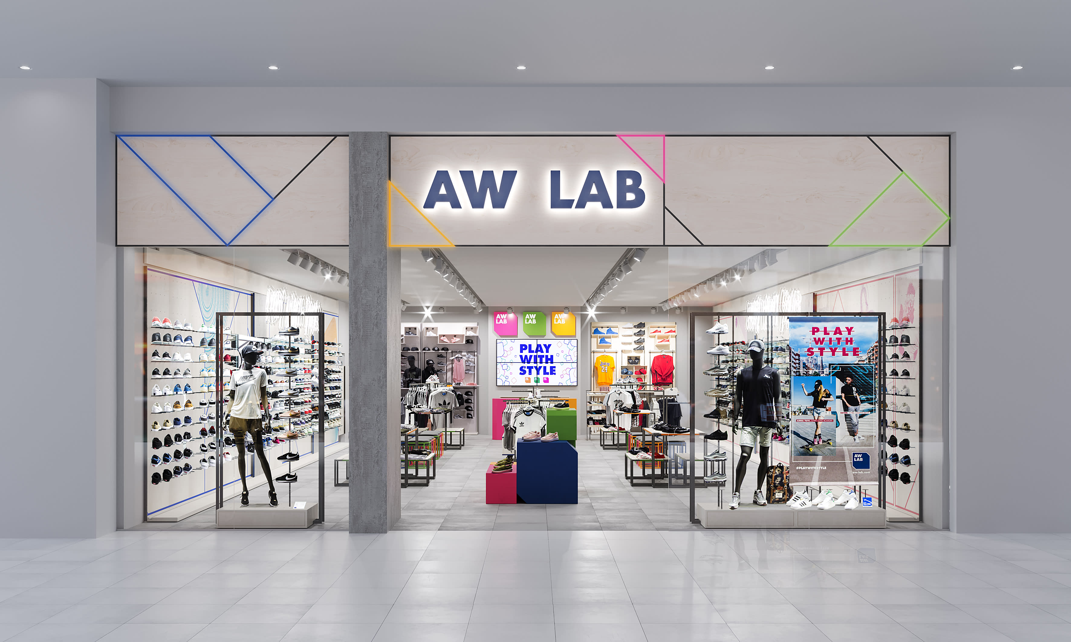 Bata's sport style retailer AW LAB opens first store in Asia